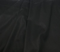 Black Stretch Cotton  Shirting