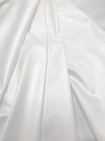 White Stretch Cotton Shirting