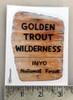 Golden Trout Wilderness Sticker