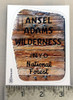 Ansel Adams Wilderness Sticker