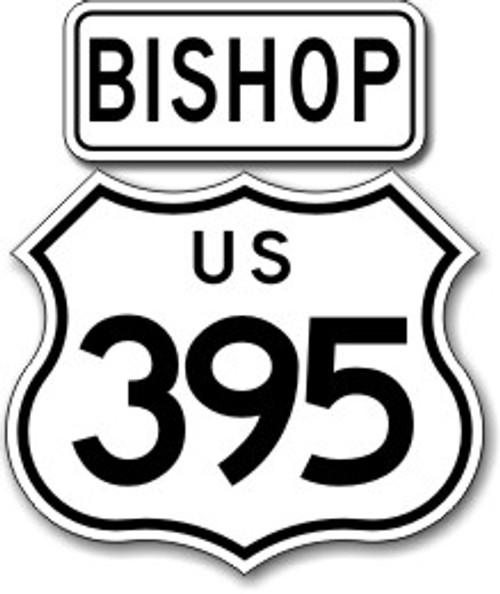 395 Bishop Sticker