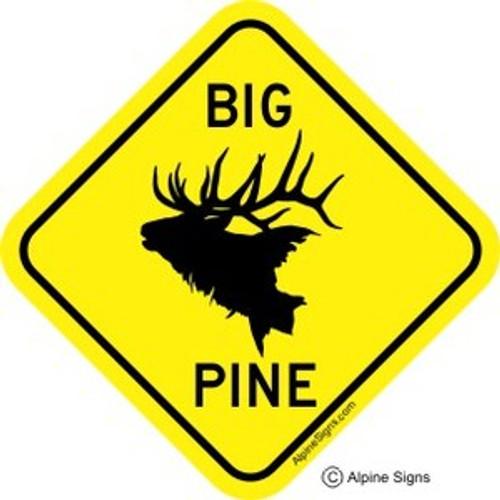 Big Pine Elk Sticker