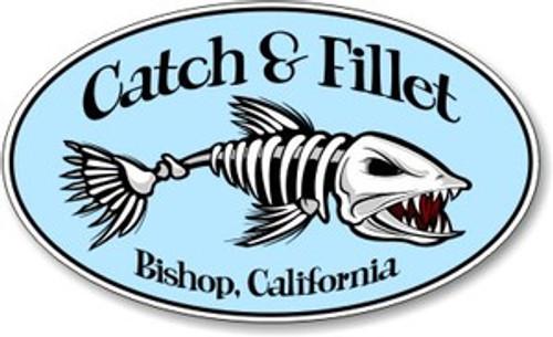 Catch & Fillet Sticker