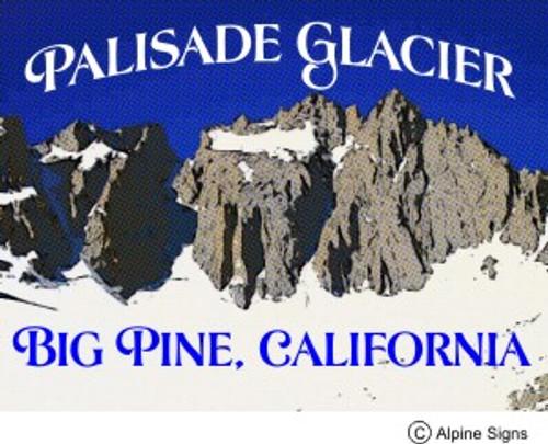 Palisade Glacier Sticker