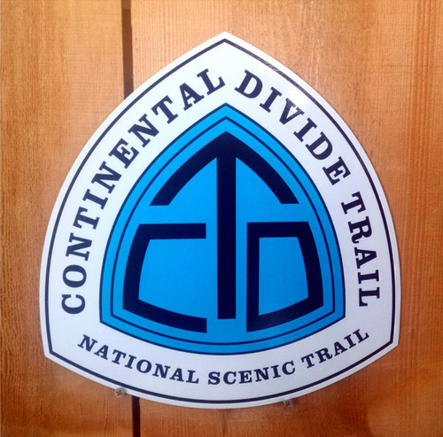 Continental Divide Trail CTD Trail sign