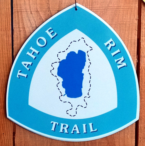 Tahoe Rim Trail sign