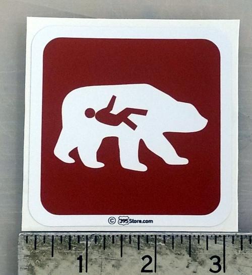 Bear Ate the Hiker Sticker