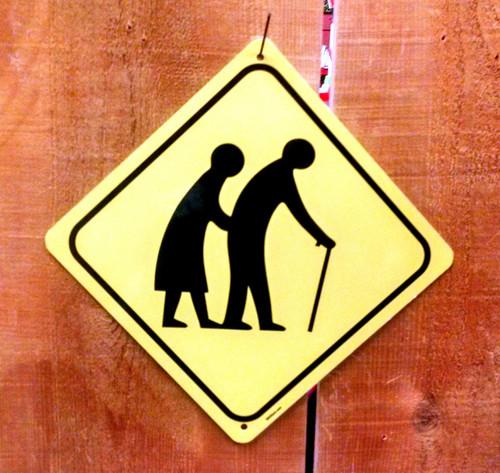 Elderly Crossing Sign