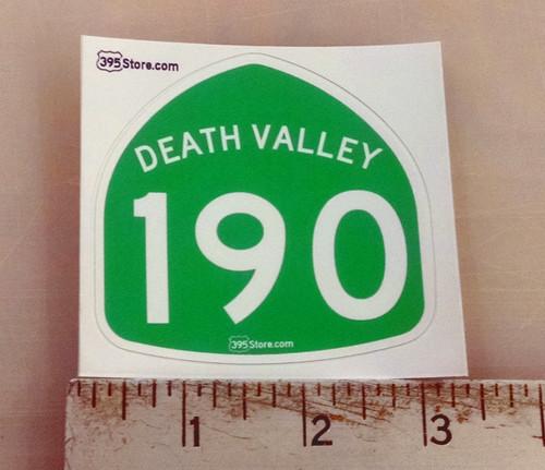 Death Valley 190 Sticker