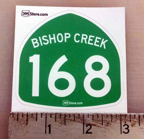 Bishop Creek 168 Sticker