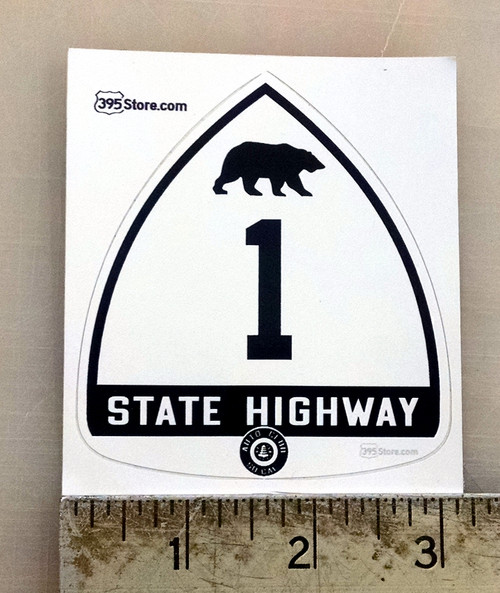 Old California Highway 1 Sticker