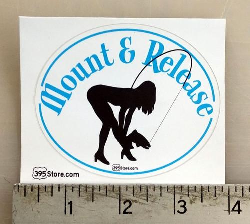 Mount & Release Fishing Sticker