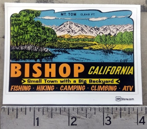 Bishop Old Retro Sticker
