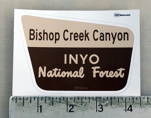 Bishop Creek Canyon Sticker