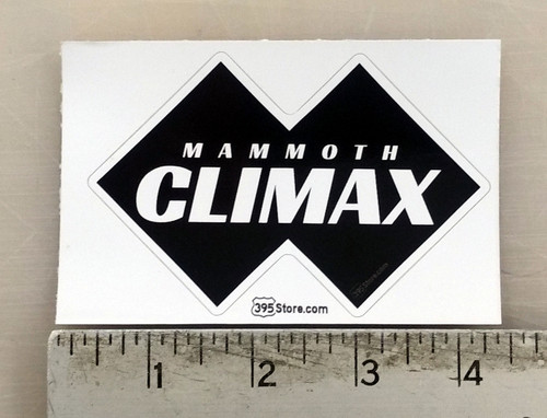 Mammoth Climax Snow Ski Sticker