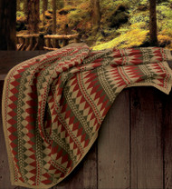 Wilderness Ridge Knitted Throw