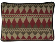 Knitted Navajo Pillow