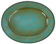 Oval Turquoise Platters