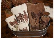 3-Horse Linen/Towels
