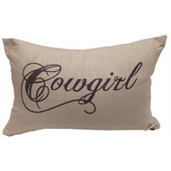 Cowgirl Linen Pillow