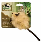 """Play-N-Squeak """"Wooly Mouse"""" with Catnip"""