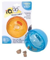 IQ Treat Ball Dog Toy (Choose Size to View Price)