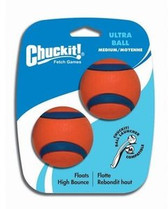 Chuckit Ultra Ball (2 pack), Med