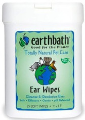 Earthbath Ear Wipes (25 ct)