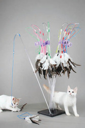 VEE PURRfect Feather Cat Toy