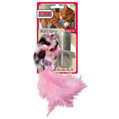 Kong Wild Field Mouse Refillable Catnip Toy