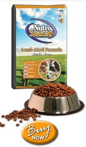 Nutrisource All Life Stages Grain Free Lamb Dog Food, 30 lb.