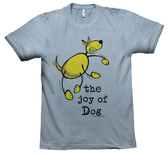 "Artimals T-shirt, ""The Joy of Dog"""