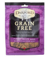 Darford Grain Free Turkey Mini Biscuits (12 oz.)