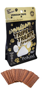 Petkind Venison Tripe Treats, 6 oz.