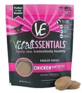 Vital Essentials Freeze Dried Mini Patties, Chicken, 1 lb.