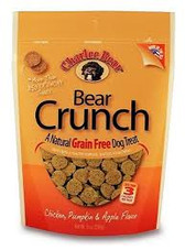 Charlee Bear Grain Free Chicken/Pumpkin/Apple Dog Treats, 8 oz.