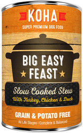 Koha Big Easy Feast Stew Dog Food, 12.7 oz.