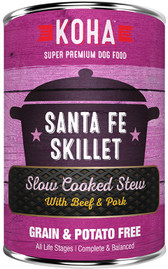 Koha Santa Fe Skillet Stew Dog Food, 12.7 oz.