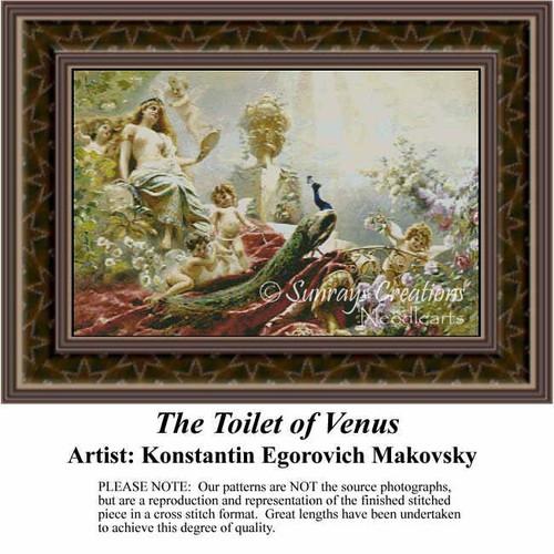 the toilet of venus re 222 sunrays creations