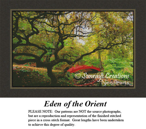 Oriental Cross Stitch Patterns | Eden of the Orient
