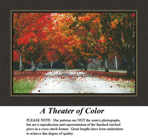 Alluring Landscapes Cross Stitch Patterns | A Theater of Color