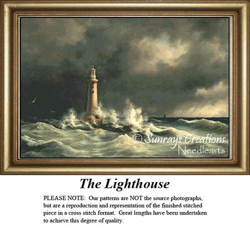 The Lighthouse, Cross Stitch Pattern