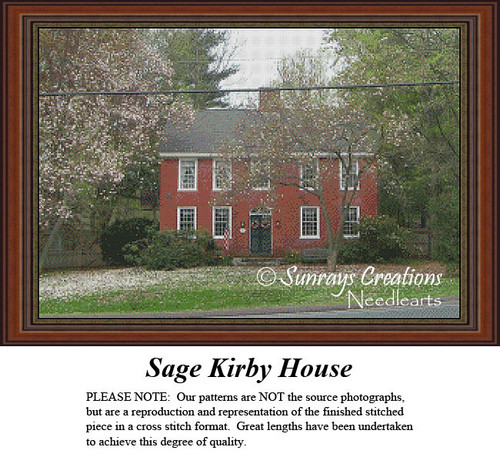 New England States Cross Stitch Patterns | Sage Kirby House