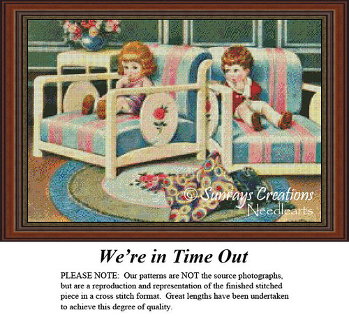 Vintage Cross Stitch Patterns | We're in Time Out