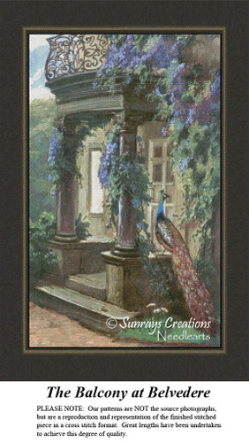 Vintage Counted Cross Stitch Patterns | The Balcony at Belvedere