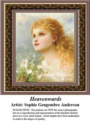 Fine Art Counted Cross Stitch Patterns | Heavenwards
