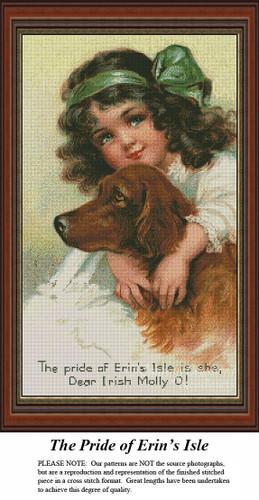 Irish Cross Stitch Pattern | The Pride of Erin's Isle