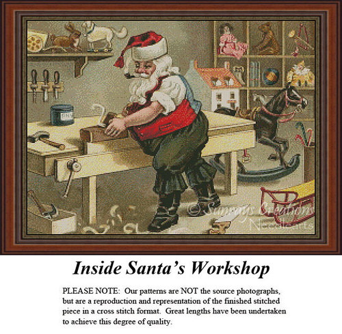 Christmas Cross Stitch Patterns | Inside Santa's Workshop