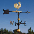 30 Inch Rooster Full-Bodied Weathervane