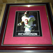 "ALABAMA CRIMSON TIDE FRAMED ART PICTURE "" Trent Richardson """
